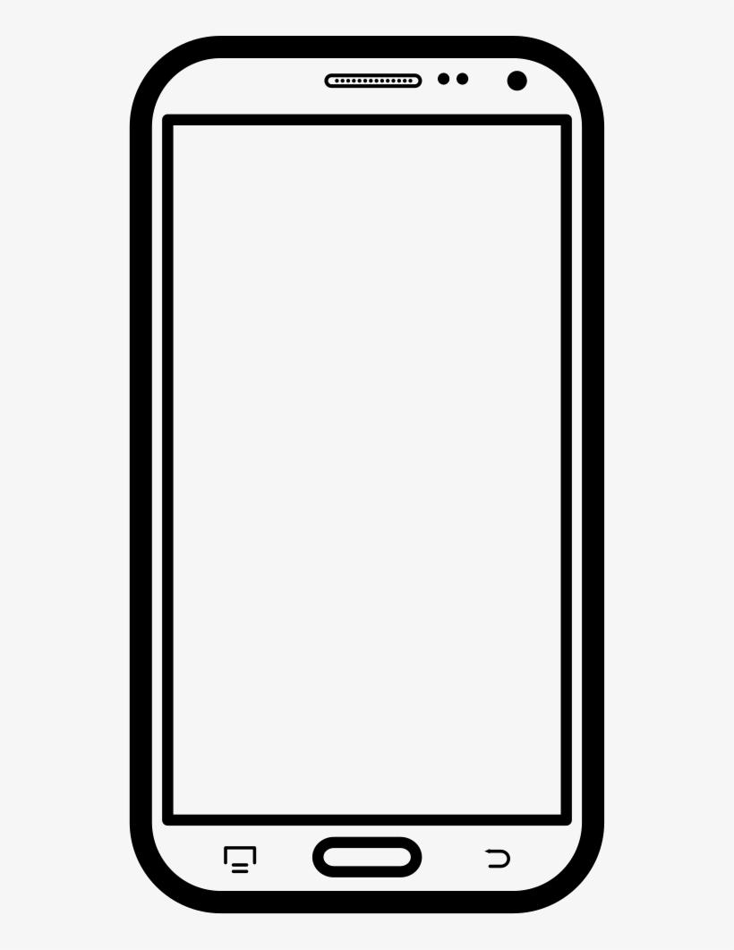 Mobile frame clipart image svg Mobile Frame Png images collection for free download ... svg