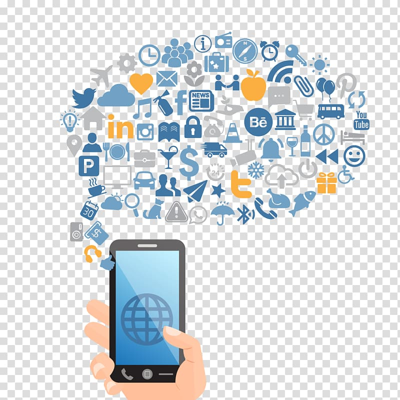 Mobile network icon clipart graphic royalty free library Smartphone icons , Social media marketing Social network ... graphic royalty free library