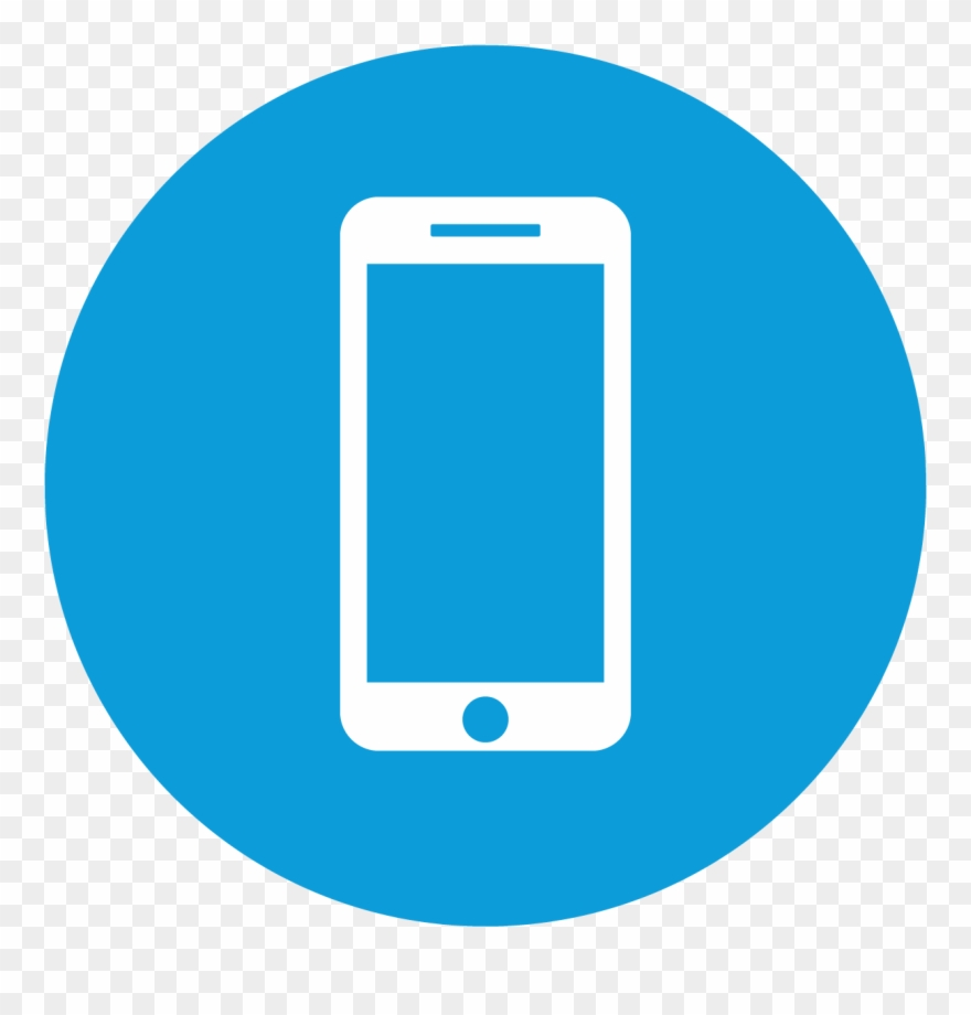 Mobile service clipart clip free download Mobile Services - Blue Smart Phone Icon Clipart (#1296434 ... clip free download