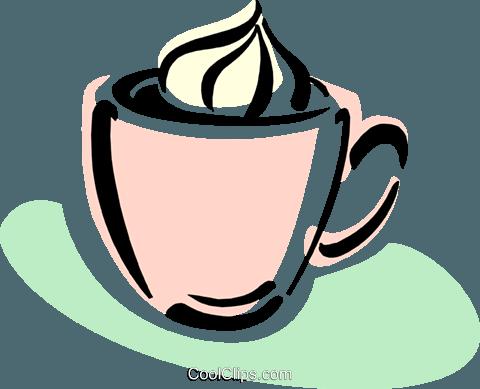 Mocha clipart svg free mocha coffee with cream Royalty Free Vector Clip Art ... svg free