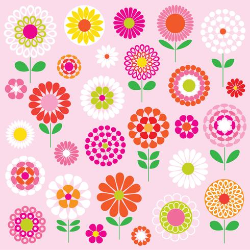 Mod flowers clipart vector royalty free download mod vector flowers clipart graphics - Download Free Vector ... vector royalty free download