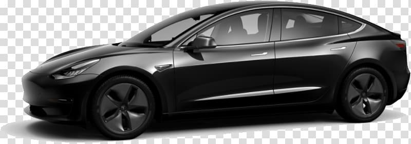 Model 3 clipart library Black sedan, Tesla Model 3 Black transparent background PNG ... library