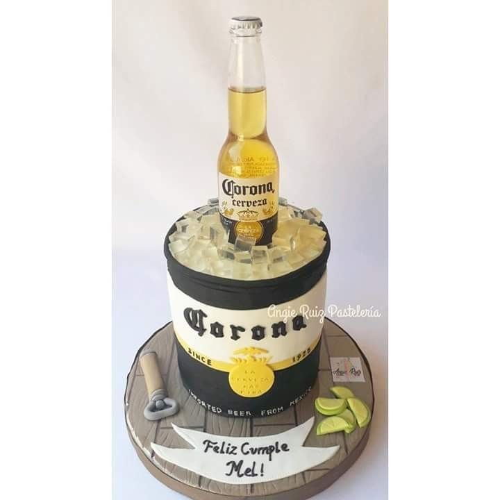 Modelo beer bottles clipart para decorasion png transparent stock Cerveza Corona. Torta. Cake. Beer. Tucuman. | Cakes in 2019 ... png transparent stock