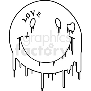 Modern clipart jpg free stock modern smile face outlined . Royalty-free icon # 406370 jpg free stock