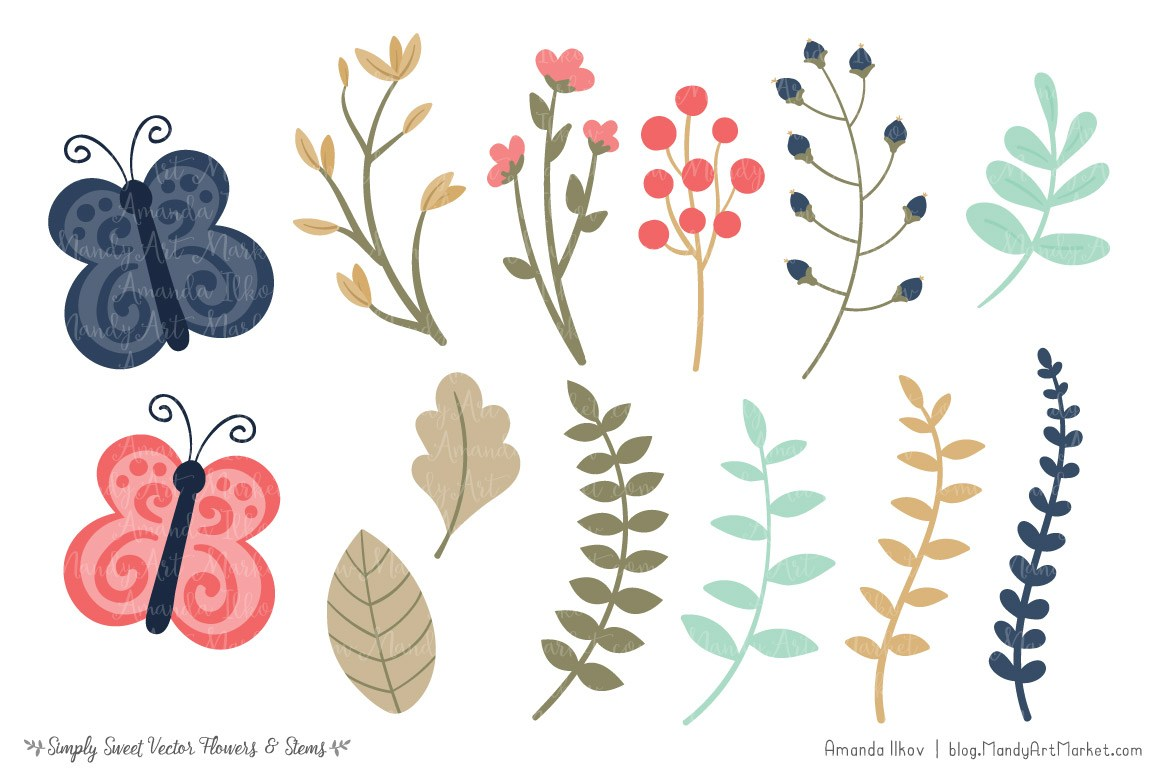 Modern clipart flowers graphic freeuse Modern flower clipart 7 » Clipart Portal graphic freeuse