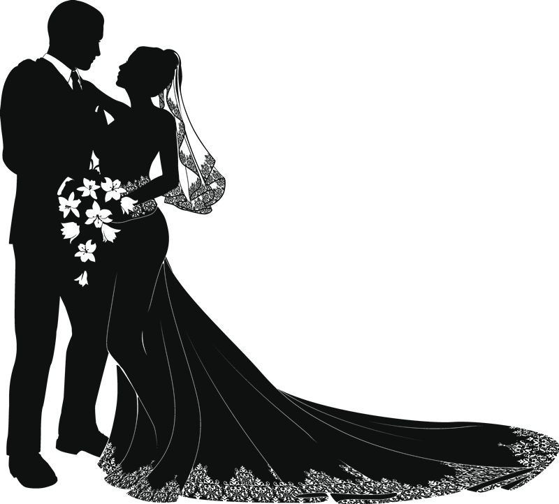 Modern cross clipart graphic library library 21+ Best Modern Wedding Couple Silhouette Png | Find wonderful ... graphic library library