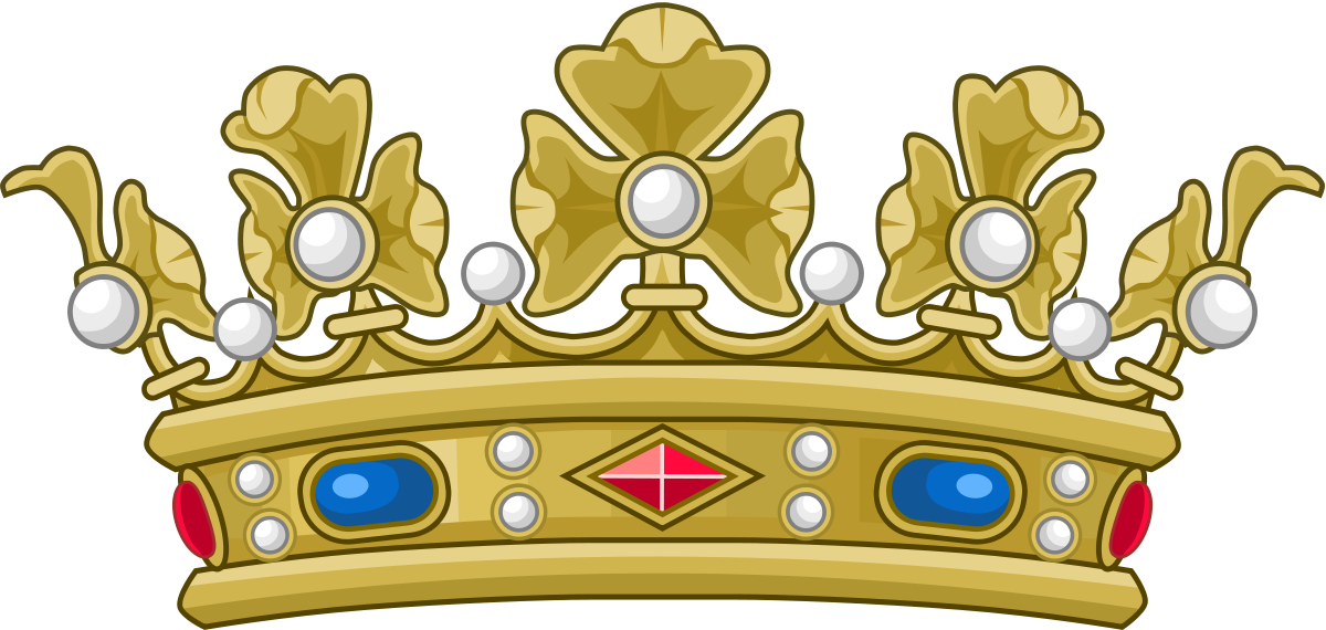 Modern crown tracing clipart png free library Dukes in France - Wikipedia png free library