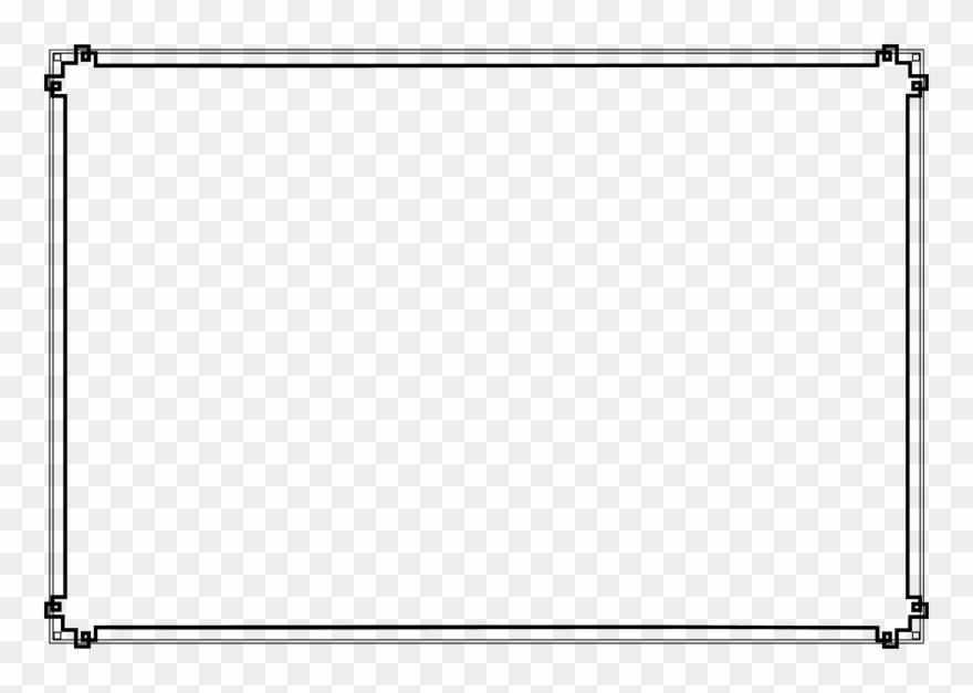 Modern frame clipart clipart black and white stock Medium Image - Frame Modern Clipart (#2082375) - PinClipart clipart black and white stock