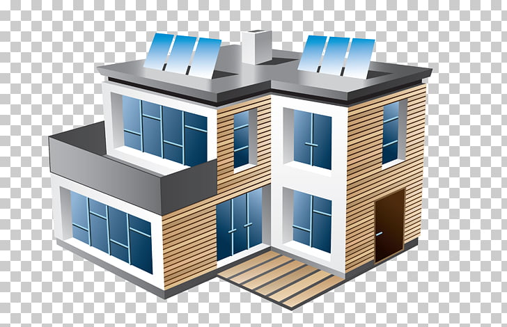 Modern home clipart transparent library House Modern architecture Building , building PNG clipart ... transparent library