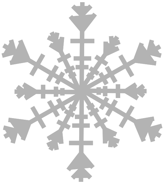 Single snowflake clipart graphic freeuse Snowflake clipart single snowflake #1671789 - free Snowflake clipart ... graphic freeuse