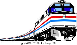 Modern train clipart picture library download Train Clip Art - Royalty Free - GoGraph picture library download