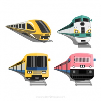 Modern train clipart banner free library Train Vectors, Photos and PSD files | Free Download banner free library