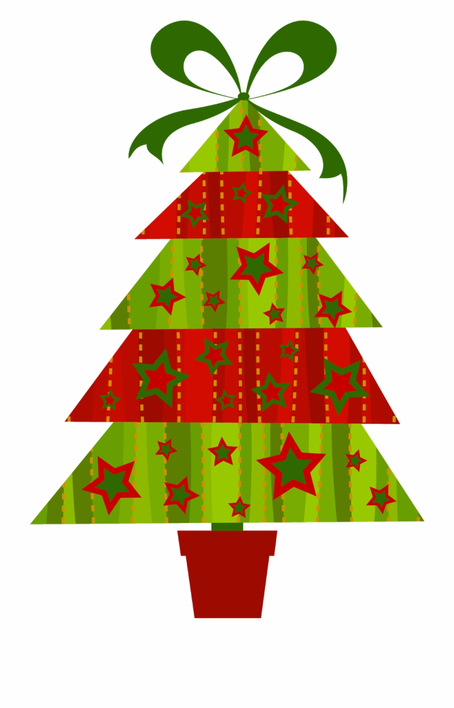 Modern tree clipart clip black and white stock Cartoon Christmas Tree Png - Modern Christmas Tree Clipart ... clip black and white stock