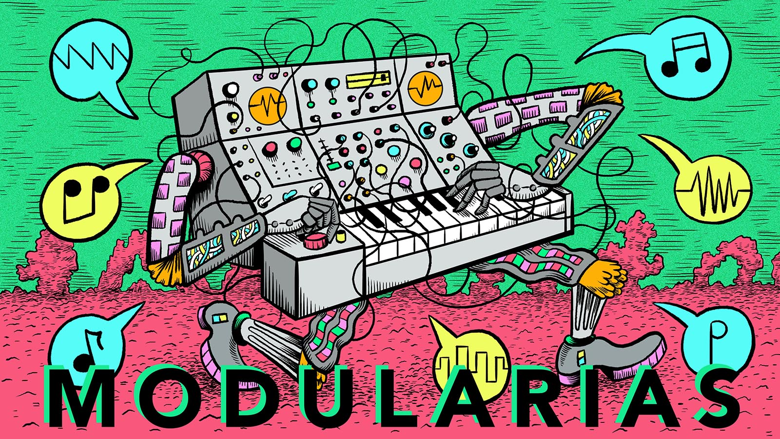 Modular synthesizer clipart svg black and white library Modularias – Experiments In Opera svg black and white library