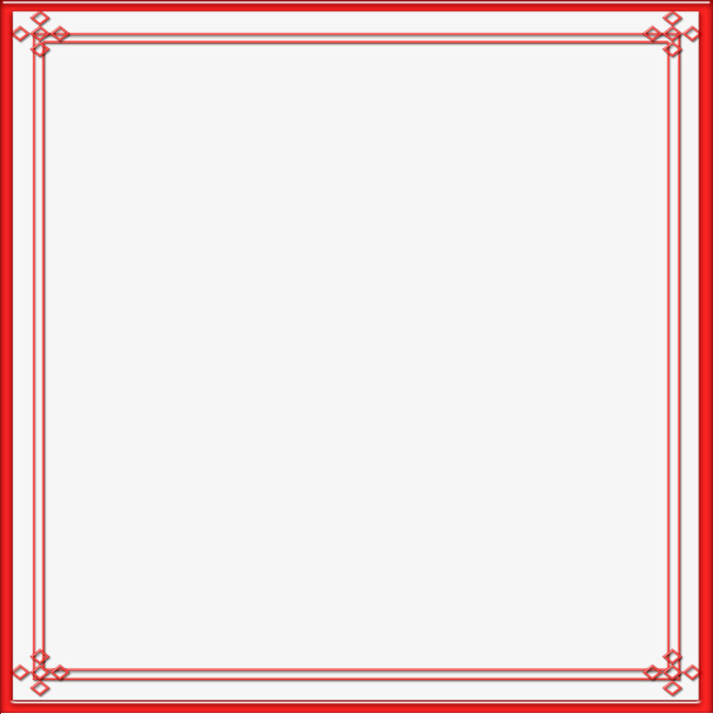 Moldura vermelha clipart svg royalty free library Red Frame, Frame Clipart, Red, Simple PN #72098 - PNG Images ... svg royalty free library
