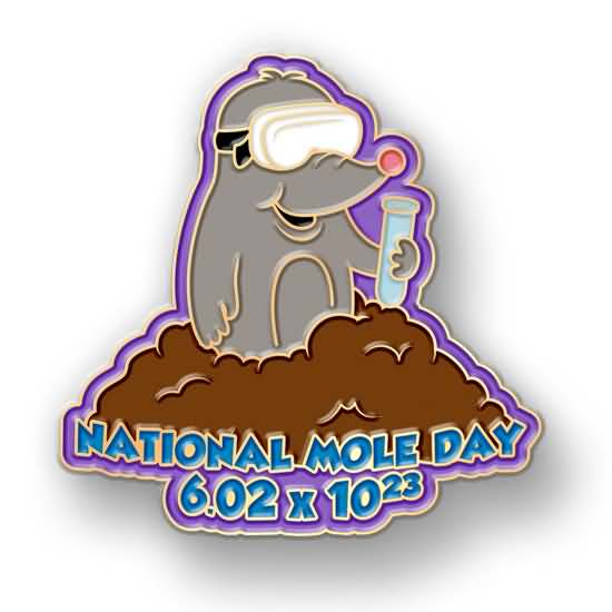 Mole day clipart png freeuse download 35 Best Happy Mole Day 2017 Greeting Pictures And Images png freeuse download