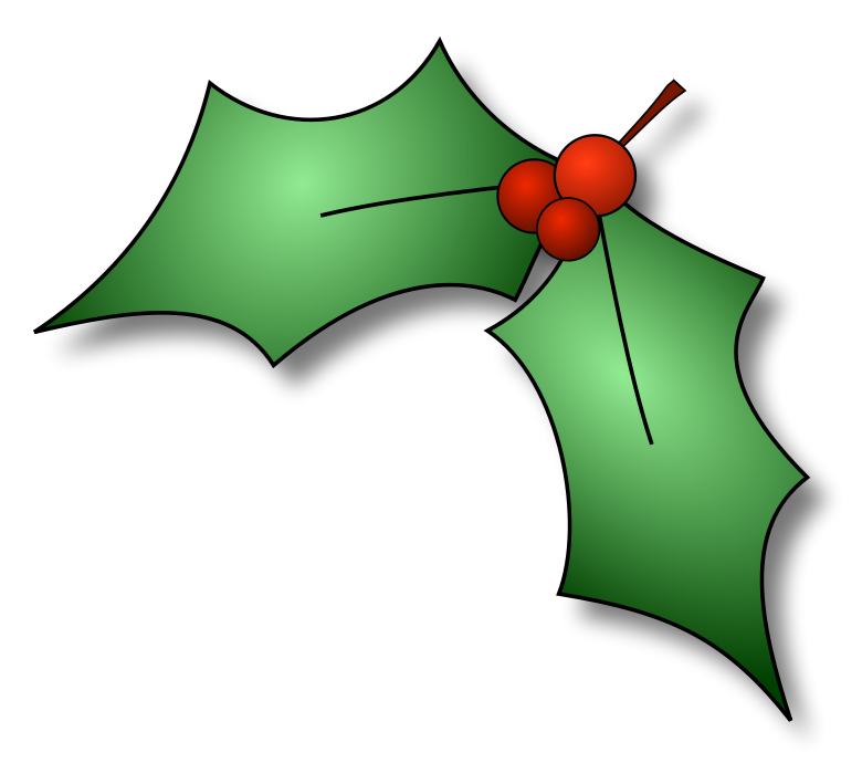 Single holly leaf clipart png transparent download Free Pictures Of Holly, Download Free Clip Art, Free Clip ... png transparent download