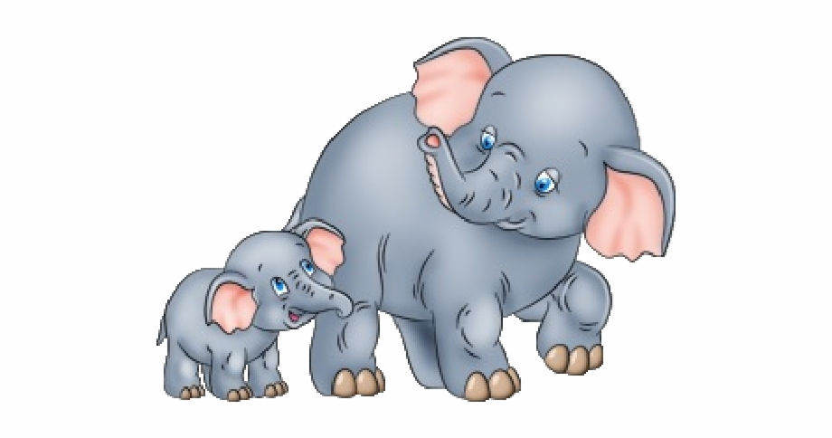 Mom and baby animals clipart png svg download Mom And Baby Animals Clipart Png - Mother And Baby Elephant ... svg download