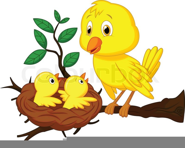 Mom and baby bird clipart black and white graphic free download Mom And Baby Bird Clipart | Free Images at Clker.com ... graphic free download