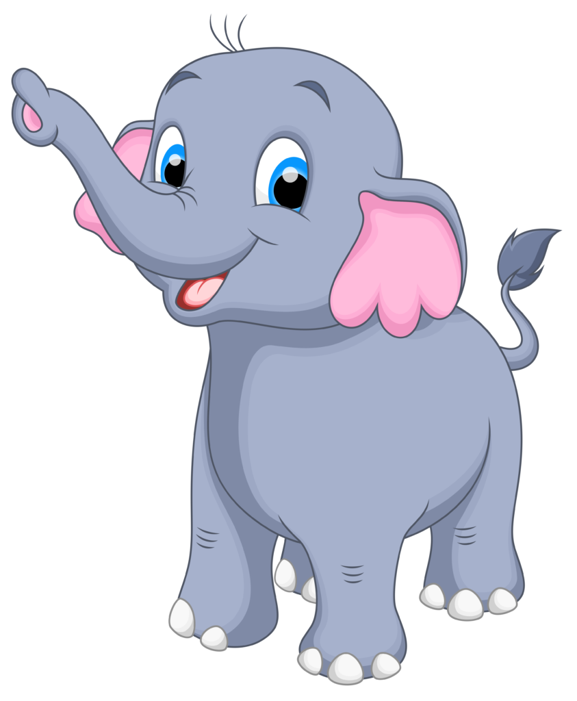 Mom and baby elephant heart clipart clipart royalty free library Free Cute Baby Elephant Clipart Images (34 Images) - Free Clipart ... clipart royalty free library