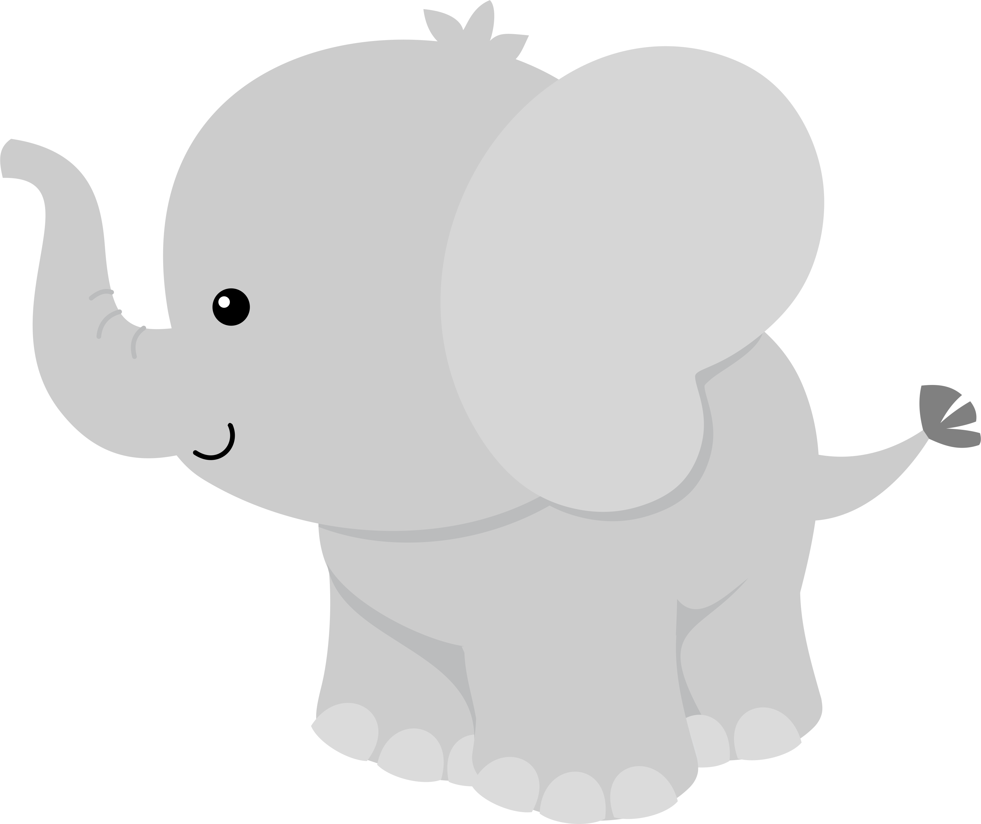 Gray Baby Elephant PNG Transparent Gray Baby Elephant.PNG Images ... image