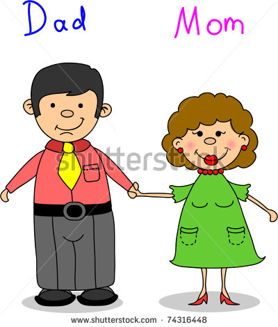 Mom and dad cliparts png royalty free Clip Art From Mommy And Daddy | Clipart Panda - Free Clipart ... png royalty free