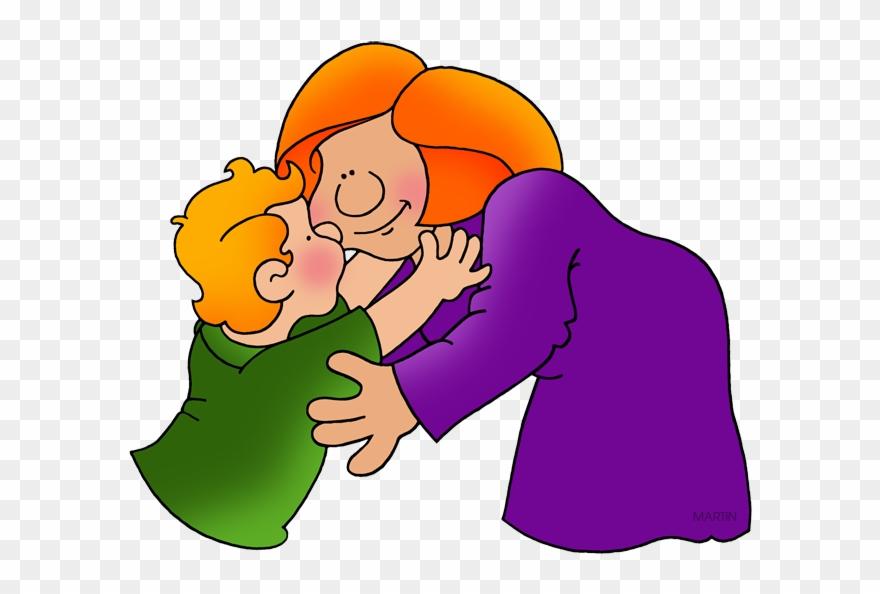 Mom and dad kisses clipart svg transparent download Valentine Kiss - Kiss Mom Clip Art - Png Download (#742877 ... svg transparent download
