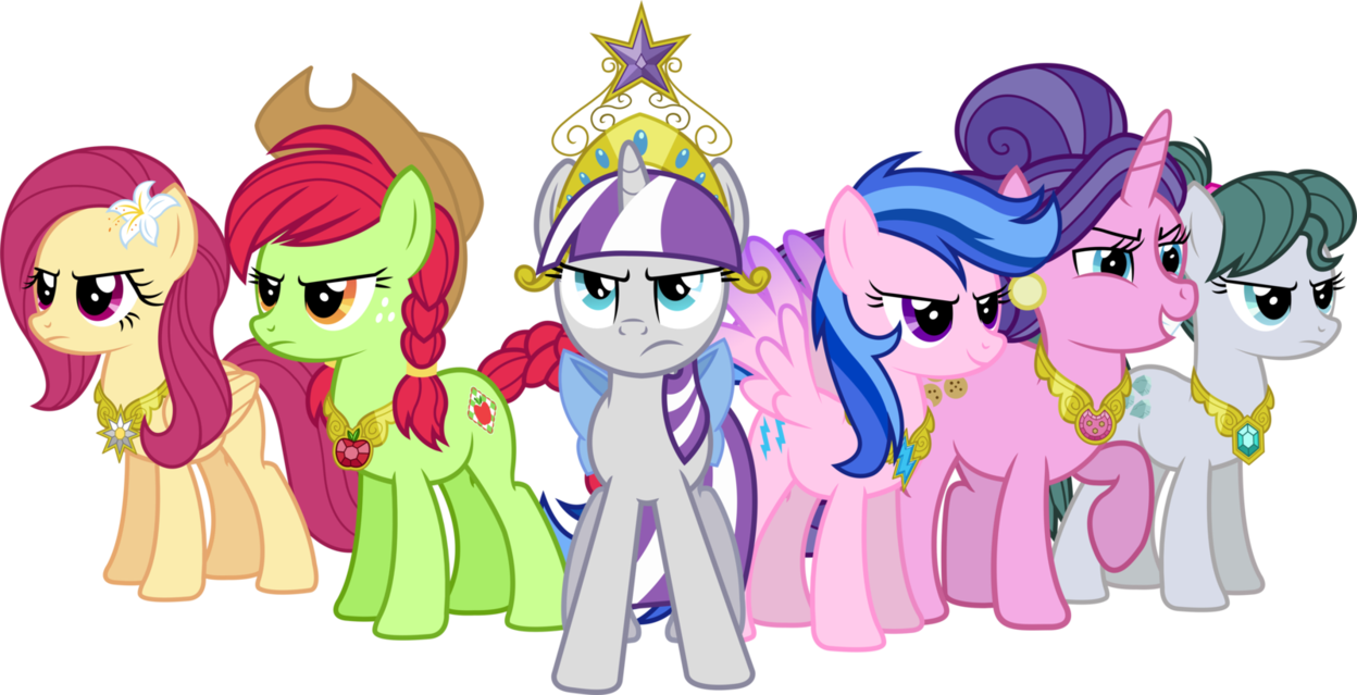 Mom apple daughter clipart picture free download MLP Alternate Universe: Mothers of Harmony by ImperfectXIII on ... picture free download