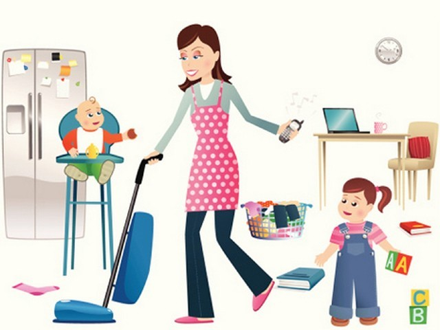 Mom comes home clipart svg library stock Being a mother is a job – One some can\'t afford to pay for ... svg library stock