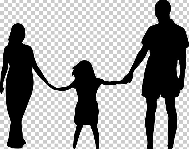 Mom dad son clipart black and white picture library download Mother Father Daughter Family PNG, Clipart, Black And White ... picture library download