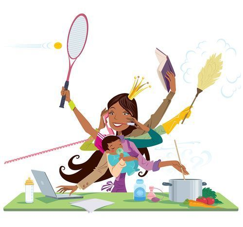 Mom dropping kids off at school clipart picture free How to Succeed as a Working Mom? Forget Balance (and Do This ... picture free
