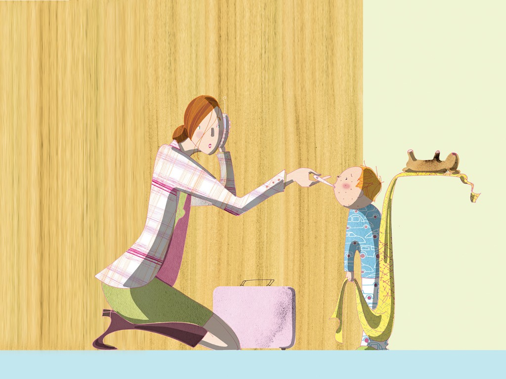 Mom dropping kids off at school clipart graphic download The working parents\' guide to dealing with sick kids ... graphic download