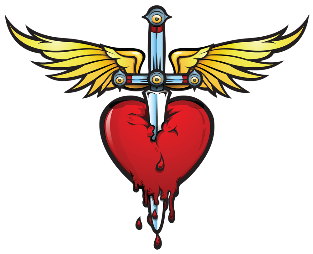 Mom heart tattoo clipart image freeuse library Heart and dagger. #bonjovi | Tatoos | Pinterest | Tattoo and Tatoos image freeuse library