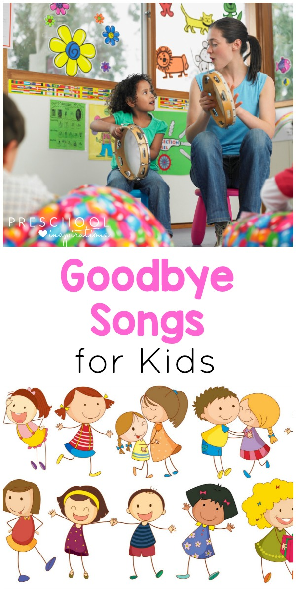 Mom kiss goodbye childblack clipart school and white graphic black and white Preschool Goodbye Songs that Kids and Teachers Love! graphic black and white