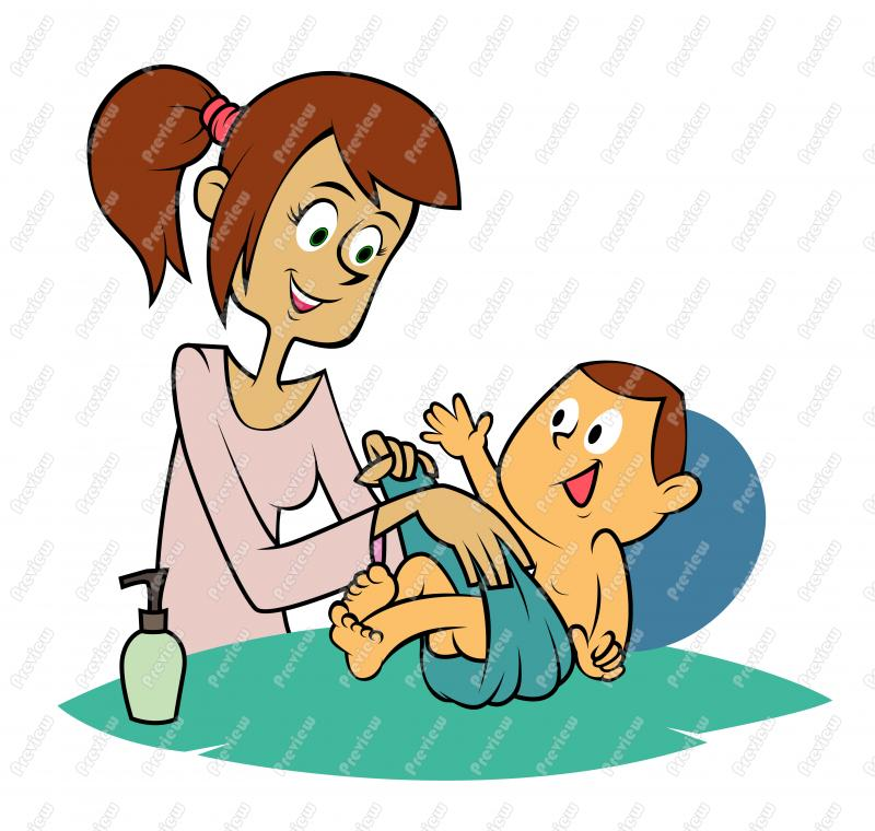 Mom making sandwich at beach clipart picture transparent stock Mother With Baby Clipart | Free download best Mother With ... picture transparent stock
