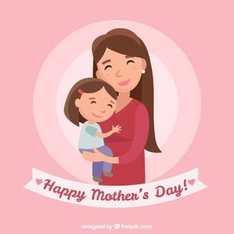 Mommy ad daughter clipart with child hagig her somethig png royalty free library Mother Daughter Vectors, Photos and PSD files   Free Download png royalty free library