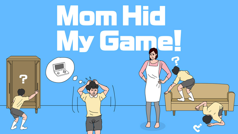Moms playing throw ball clipart graphic free library Mom Hid My Game! for Nintendo Switch - Nintendo Game Details graphic free library
