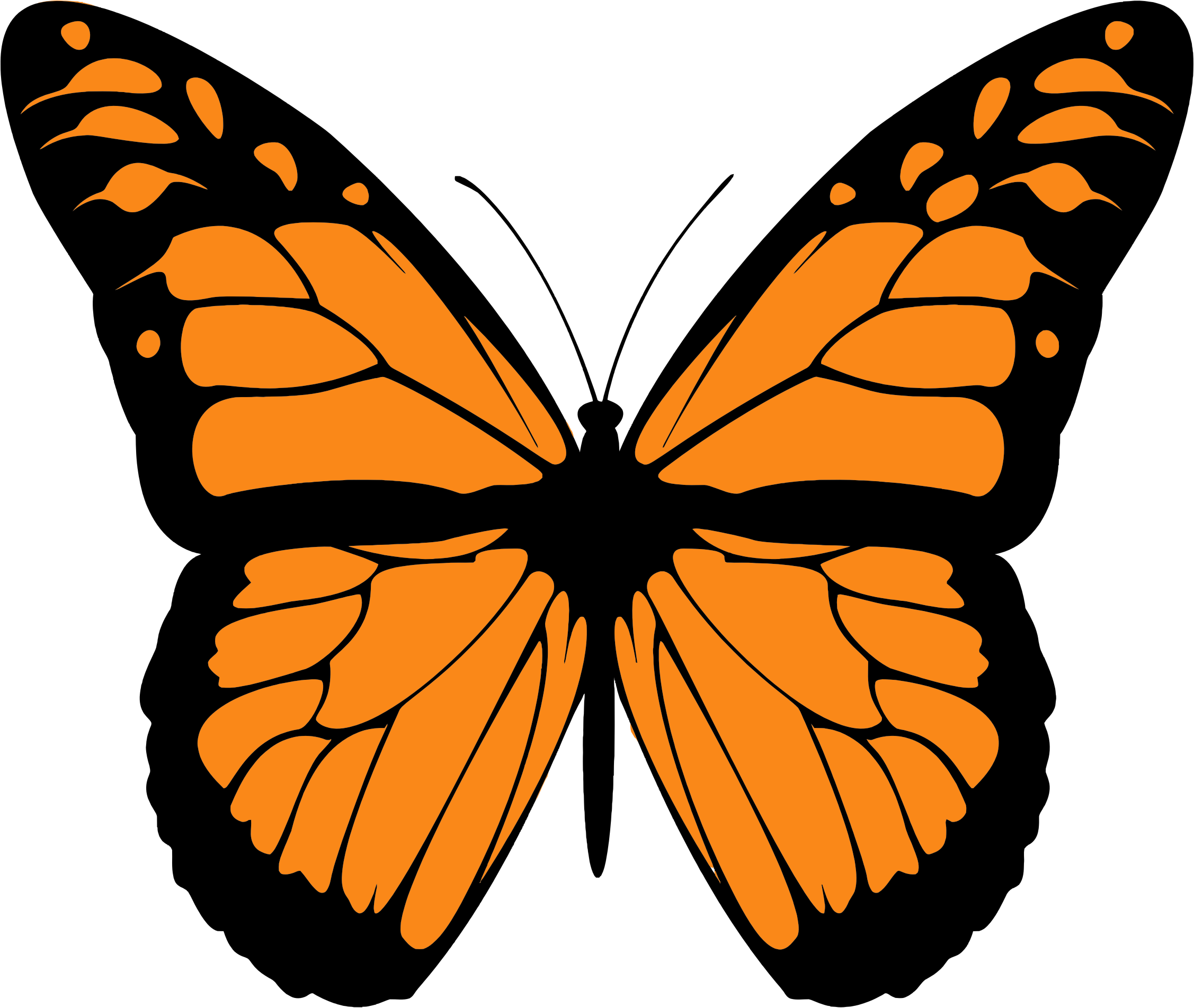Monarch butterfly clipart free banner stock Monach butterfly clipart - ClipartFest banner stock