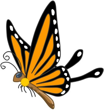 Monarch butterfly clipart free banner freeuse stock Monarch butterfly clipart free - ClipartFest banner freeuse stock
