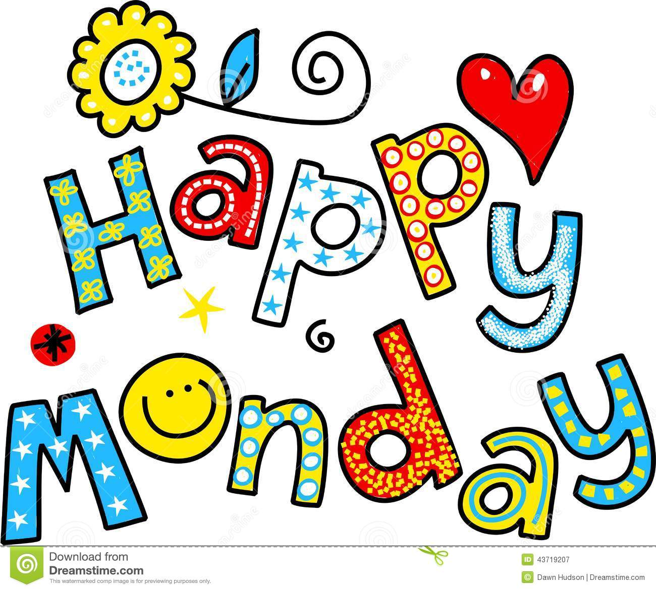 Monday clipart free picture freeuse library Happy Monday Clip Art & Look At Clip Art Images - ClipartLook picture freeuse library