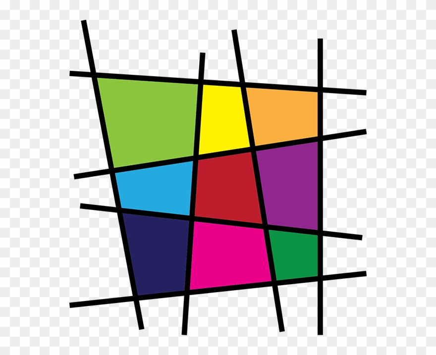 Mondrian clipart graphic royalty free stock Tic Tac Toe - Piet Mondrian Clipart (#1114921) - PinClipart graphic royalty free stock