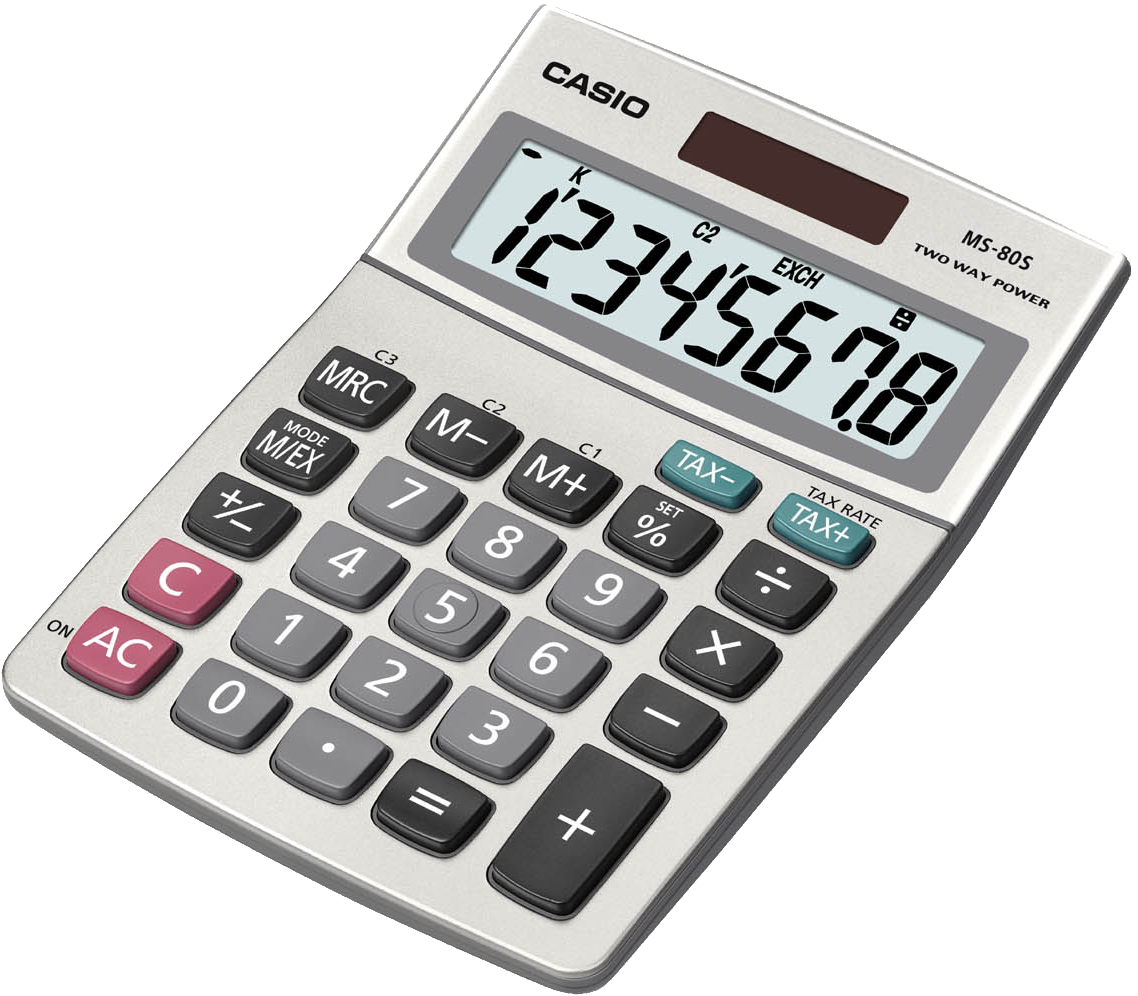 Money and calculator clipart vector transparent library 28+ Collection of Calculator Clipart Png | High quality, free ... vector transparent library