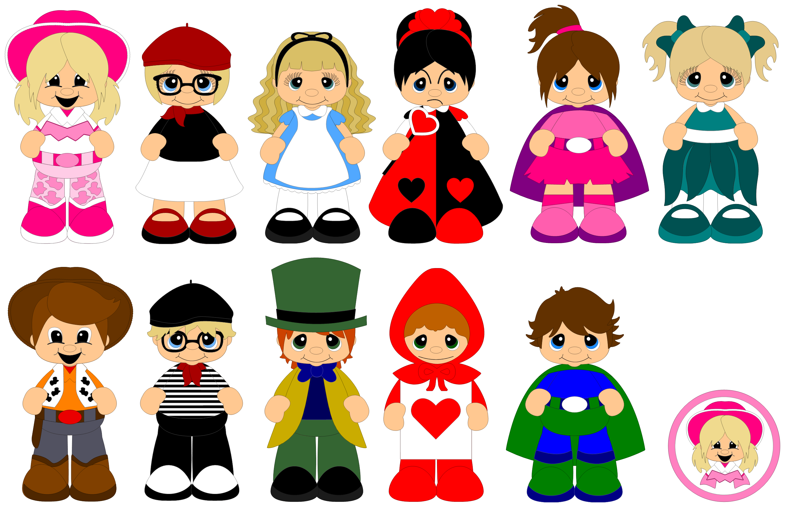 Money and expansion clipart jpg black and white download Costume Parade - Expansion Pack for Scrap Factory jpg black and white download