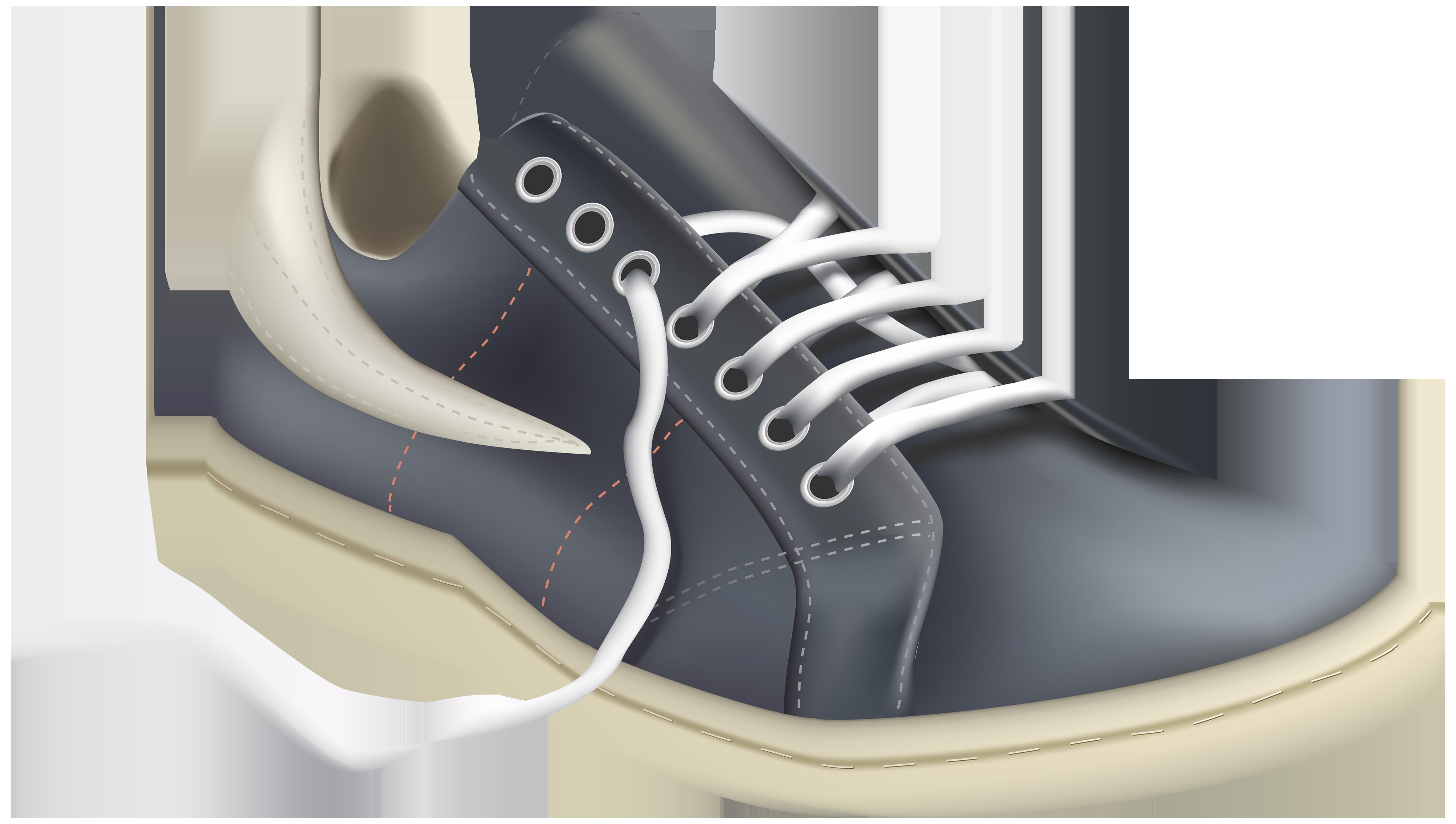 Pete the cat shoes clipart banner free library Grey Men Sport Shoe PNG Clipart - Best WEB Clipart banner free library