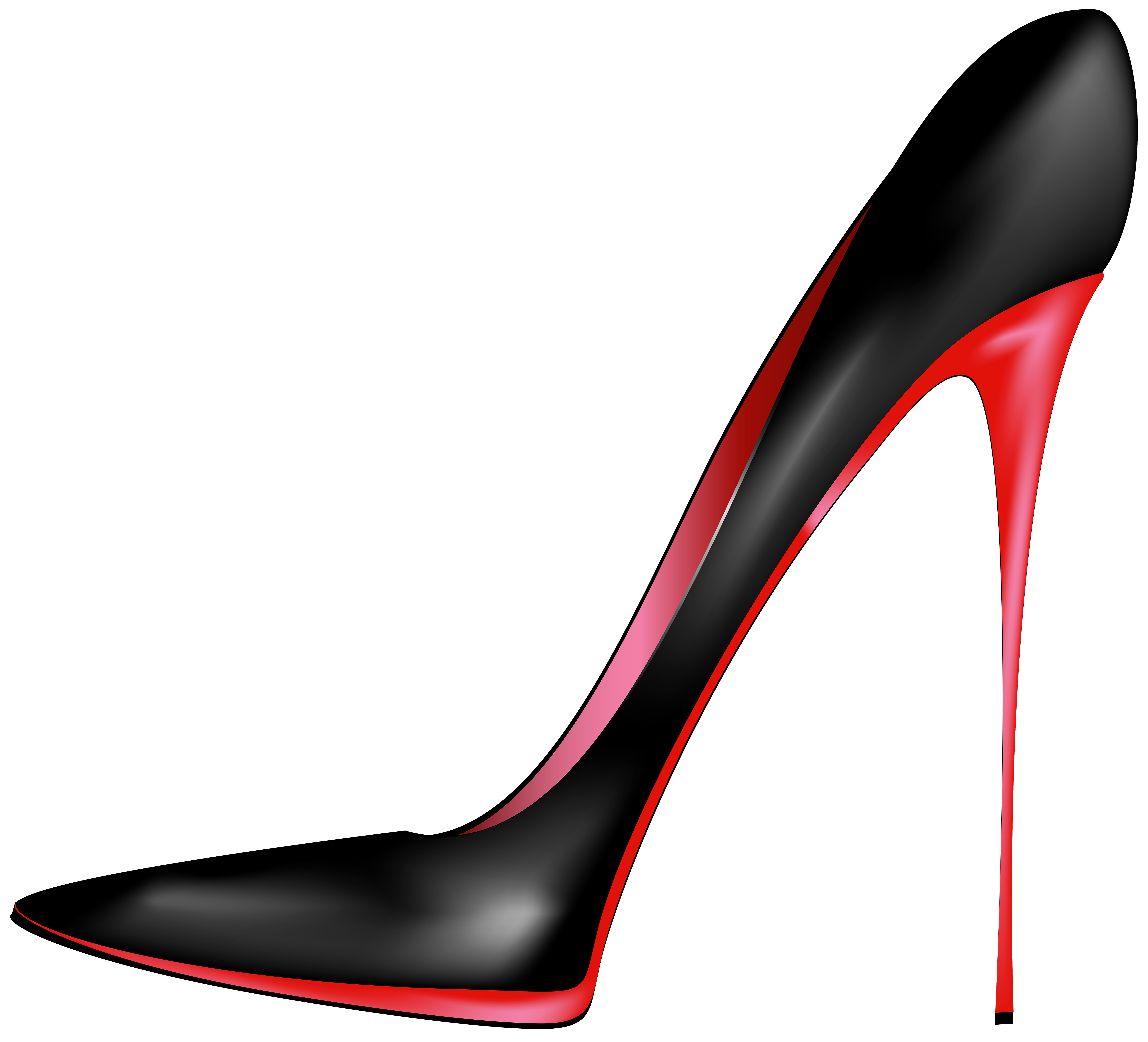 Shoes that cost a lot of money clipart clip stock Black Red High Heels PNG Clip Art - Best WEB Clipart clip stock