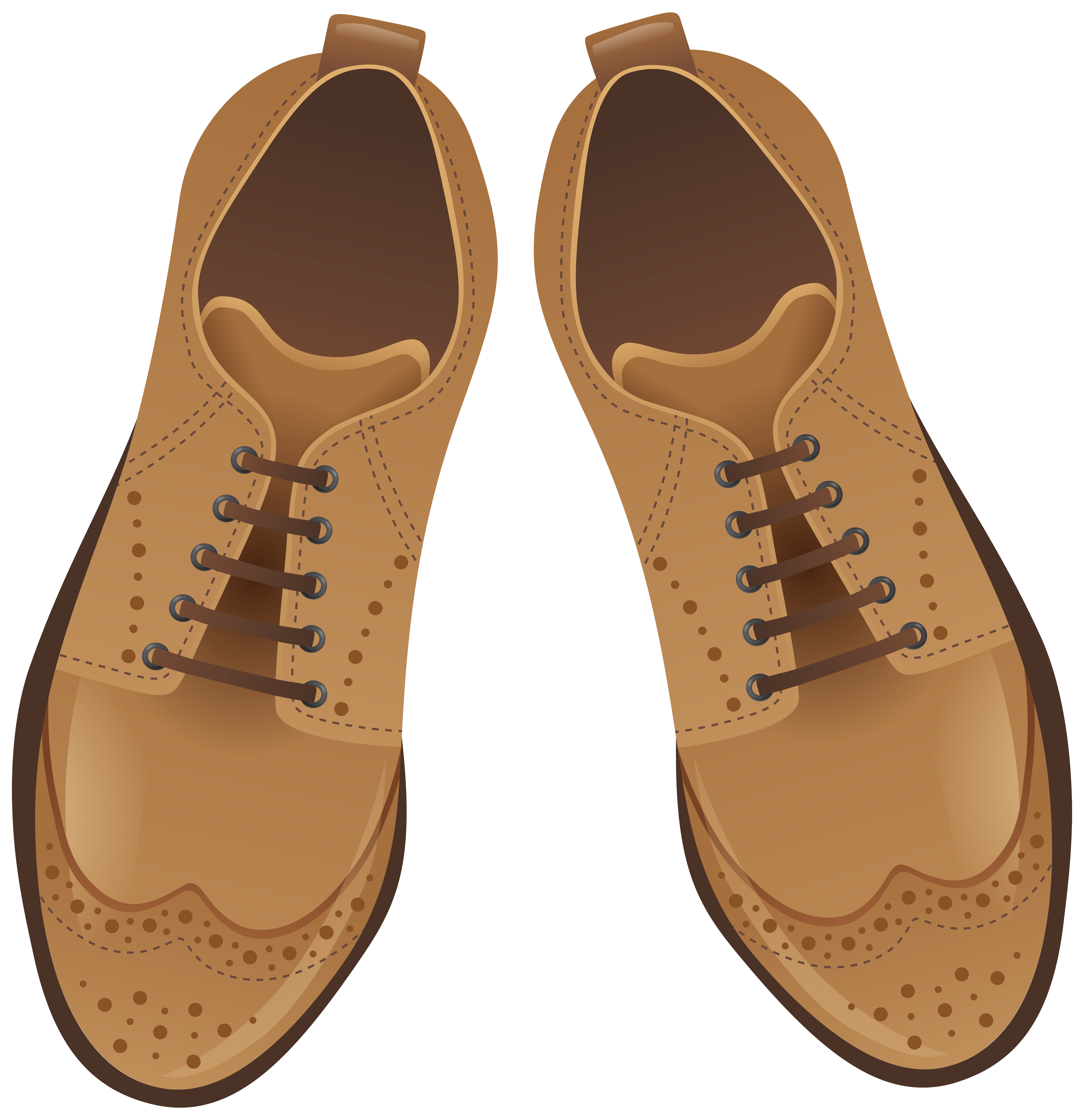 Shoes that cost a lot of money clipart image transparent Brown and White Shoes NG Clip Art - Best WEB Clipart image transparent