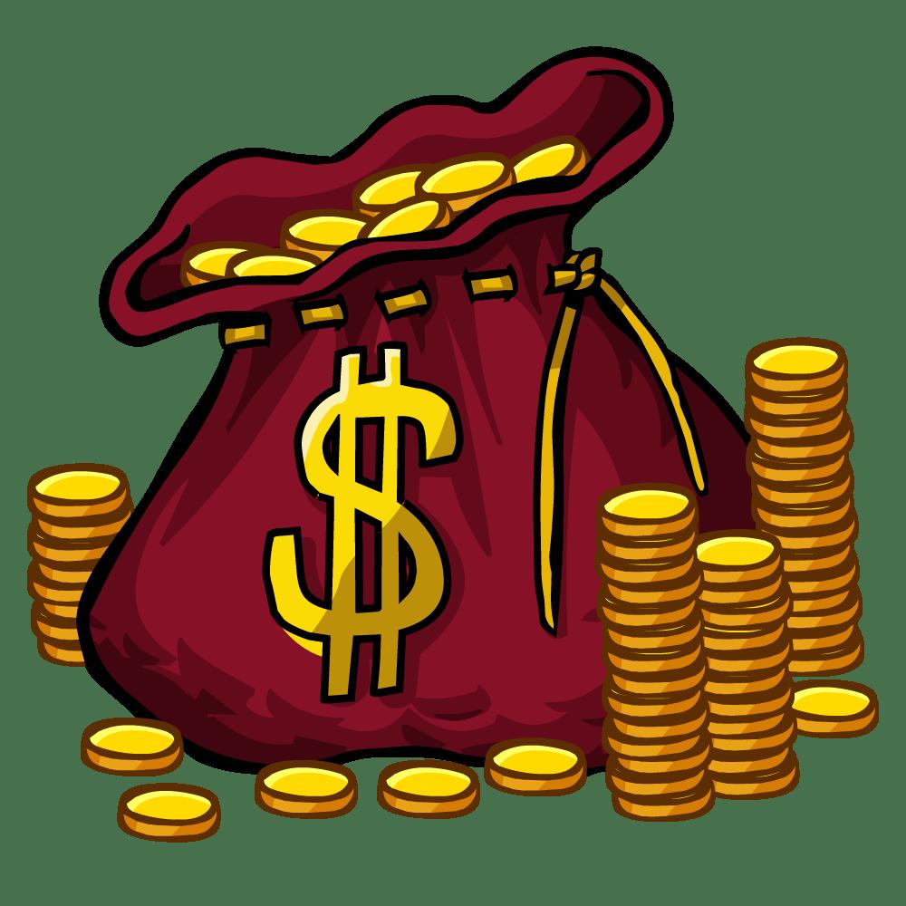 Money bag and coins clipart transparent library money bags 2 - HumbleTraders transparent library
