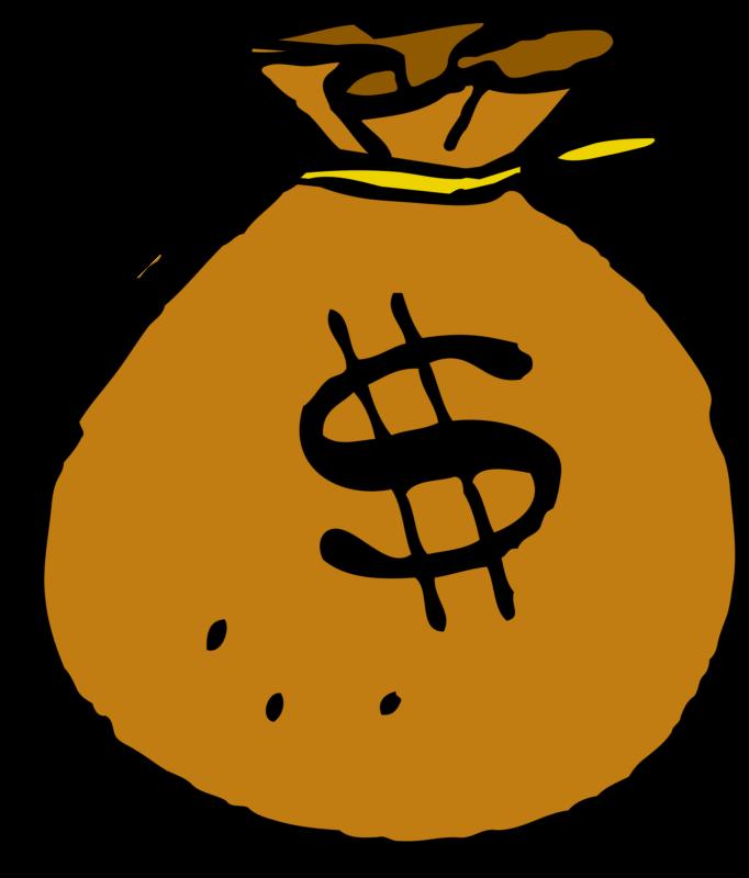Money bag clipart transparent background svg royalty free stock Free Money Bag Clipart Black And White Images Download【2018】 svg royalty free stock