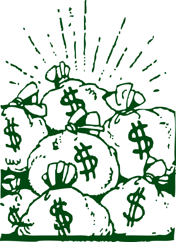 Money bags clipart image free download Public Domain Clip Art Image | money bags | ID: 13921840217389 ... image free download