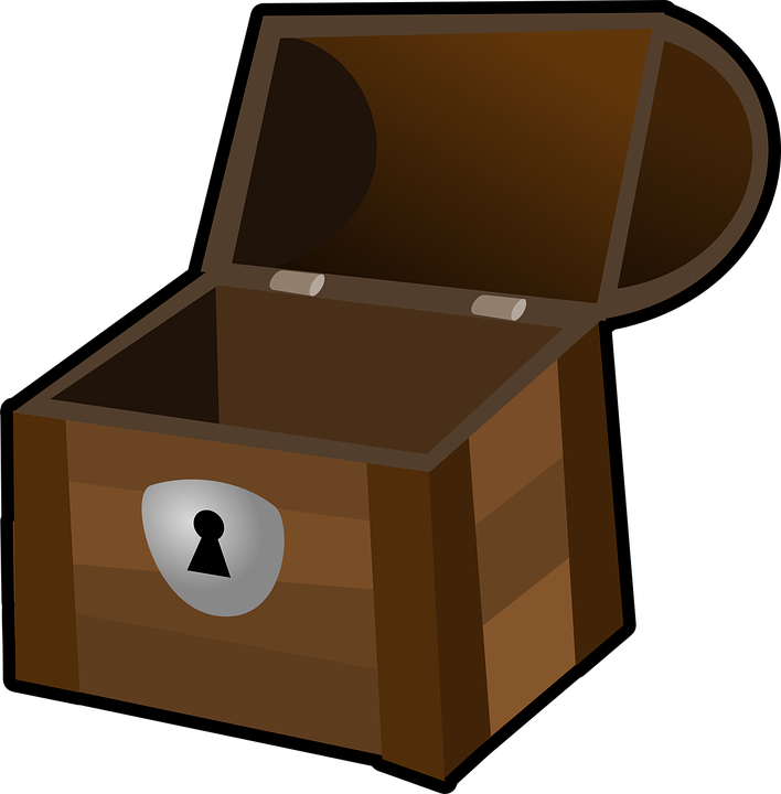 Money box clipart graphic library download Treasure Clipart Wood Box#4008907 graphic library download